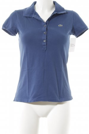 Lacoste Polo-Shirt stahlblau Casual-Look