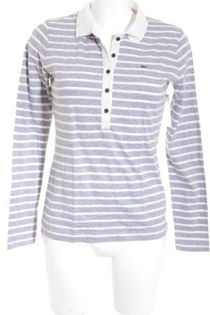Lacoste Polo-Shirt Streifenmuster Casual-Look