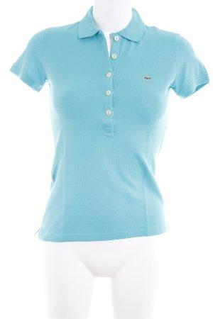 Lacoste Polo turquoise style décontracté