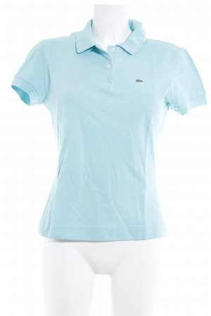 Lacoste Polo-Shirt türkis Casual-Look