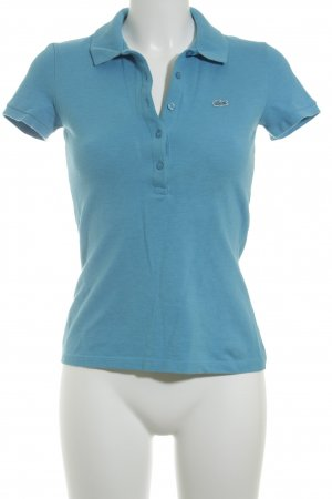 Lacoste Polo-Shirt türkis sportlicher Stil