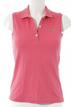 Lacoste Polo Top pink Casual-Look