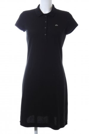 Lacoste Polo Dress black themed print business style