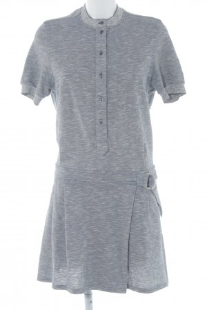 Lacoste Polo Dress dark blue-white flecked athletic style