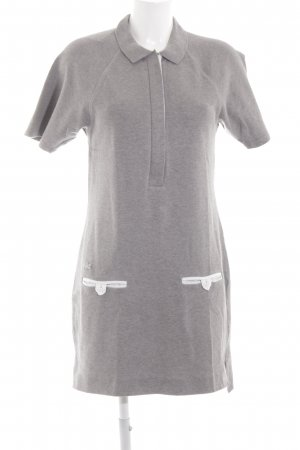 Lacoste Polo Dress light grey casual look