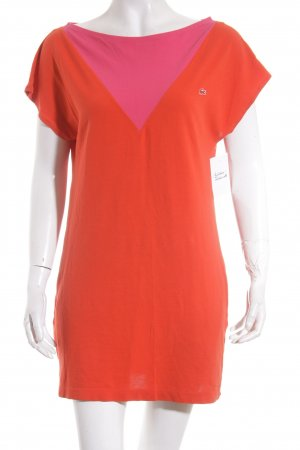Lacoste Polokleid rot-pink Casual-Look