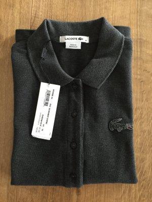 Lacoste Poloshirt Gr. 38 M NEU Grau Anthrazit Polo UVP 130 EUR