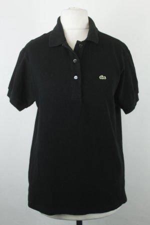 Lacoste Poloshirt Gr. 38 schwarz