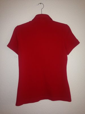 Lacoste Poloshirt Gr. 40 rot