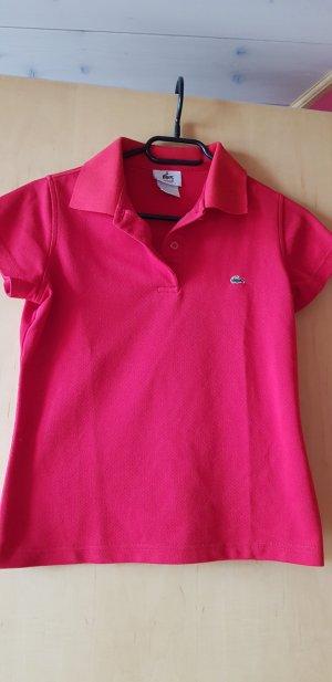 Lacoste Camiseta tipo polo rojo