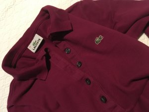 Lacoste Poloshirt in bordeauxrot
