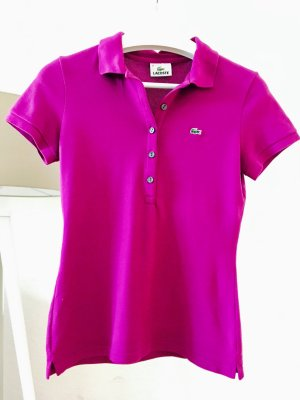 Lacoste / Poloshirt / Lila / Gr. 38 (36) / Gr. M (S)