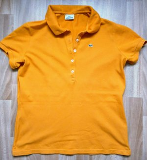 LACOSTE Poloshirt orange Gr. 46