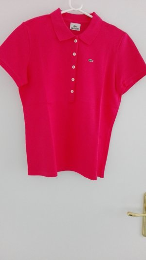 Lacoste Poloshirt pink