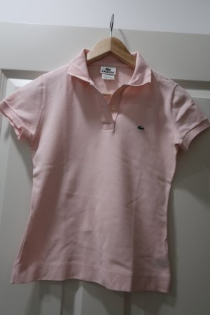 Lacoste Poloshirt rose xs cropped