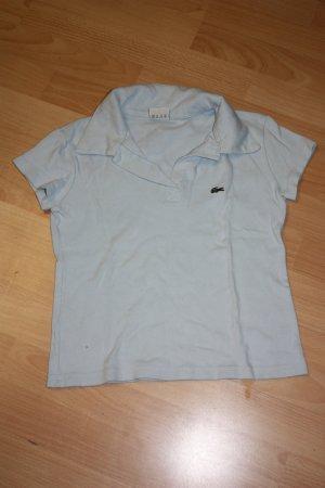 Lacoste Poloshirt, T-Shirt, Gr. S, hellblau, kaum getragen
