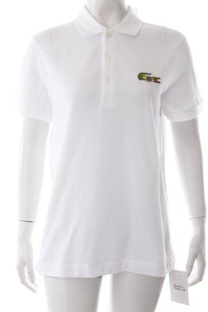 Lacoste Poloshirt Weiß