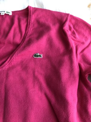 Lacoste Pullover Gr 44 Pink