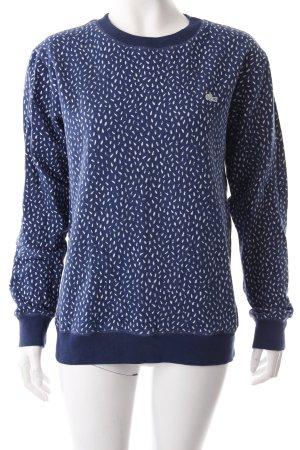 Lacoste Pullover Print blau