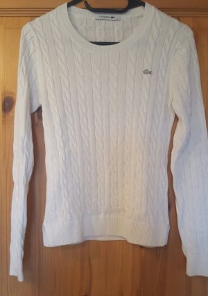 Lacoste Pullover weiß