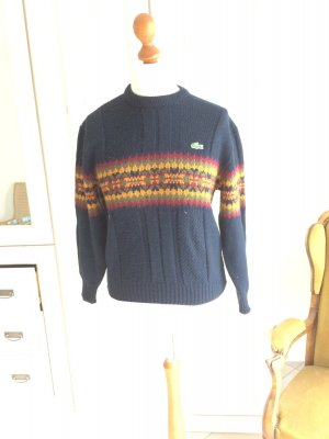 Lacoste Pullover, Wolle, Norweger, wärmend, Made in Spain