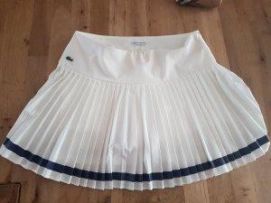 Lacoste Falda plisada blanco puro