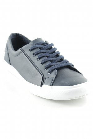 Lacoste Lace Shoes dark blue-green grey