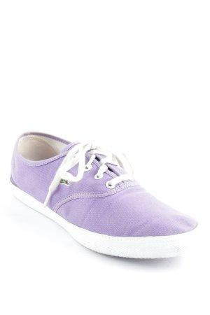 Lacoste Sneakers met veters lila