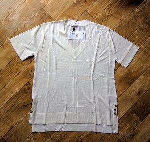 LACOSTE Shirt Feinstrick Seide