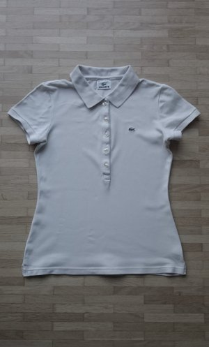 Lacoste Polo Shirt cream-oatmeal cotton
