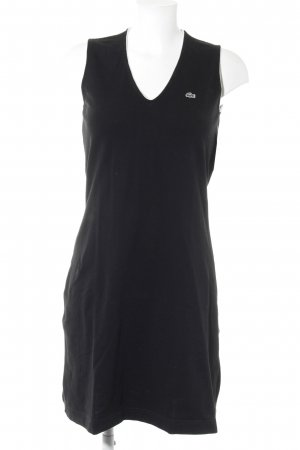 Lacoste Robe t-shirt noir style athlétique