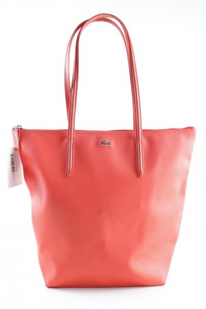 Lacoste Shopper dark orange casual look