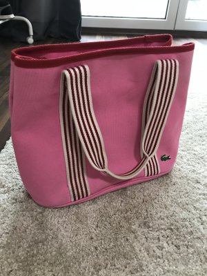 Lacoste Shopper in pink - DIE perfekte Sommertasche!!