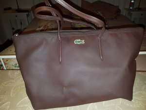 lacoste shoppingbag braun