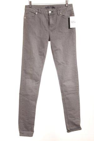 Lacoste Skinny Jeans grau Casual-Look