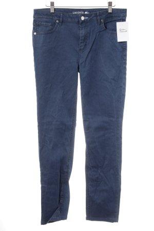 Lacoste Skinny Jeans kornblumenblau Casual-Look