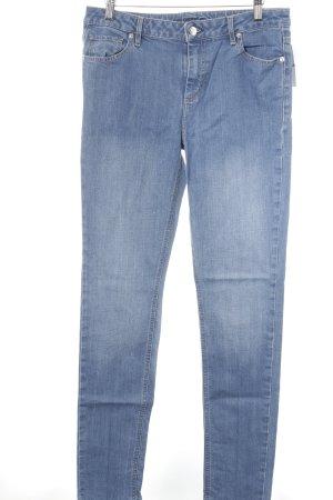 Lacoste Slim Jeans blau Street-Fashion-Look