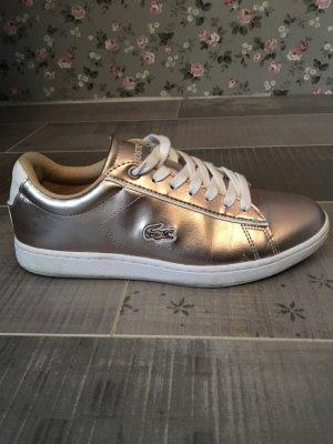 Lacoste Sneaker gold / rosegold Gr. 37