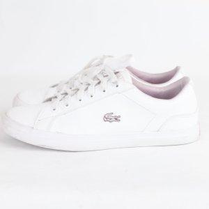 Lacoste Sneaker Gr. 37 weiß (18/9/105)