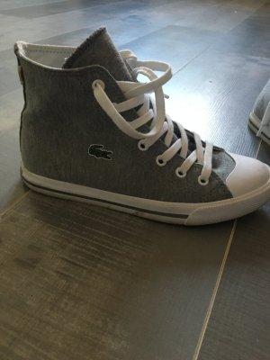 Lacoste Sneaker grau weiß Gr. 37