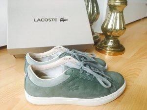 LACOSTE sneaker, Leder, grün