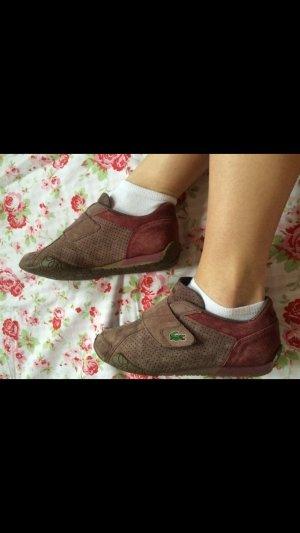 Lacoste Sneaker lila, Größe 40