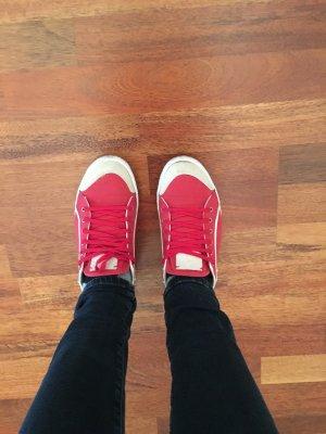 Lacoste Sneaker rot Gr. 39