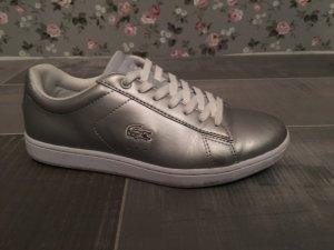 Lacoste Sneaker Silber Gr. 37