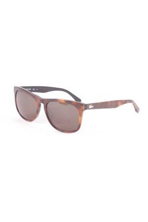 Lacoste Sonnenbrille braun klassischer Stil
