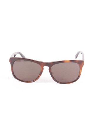 Lacoste eckige Sonnenbrille braun klassischer Stil