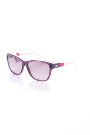 Lacoste Sonnenbrille Violett