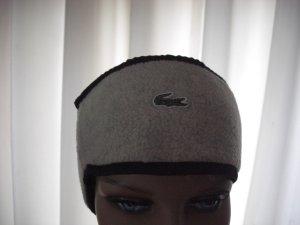 Lacoste Cache-oreilles blanc cassé-noir polyester