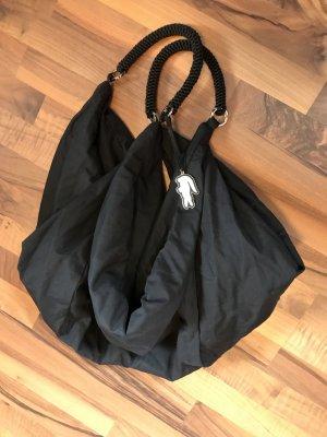 Lacoste sportliche Tasche Sporttasche Umhängetasche Oversize One size Black schwarz