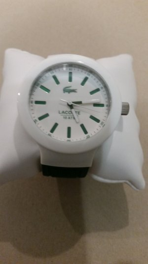 Lacoste Analog Watch white-forest green synthetic material